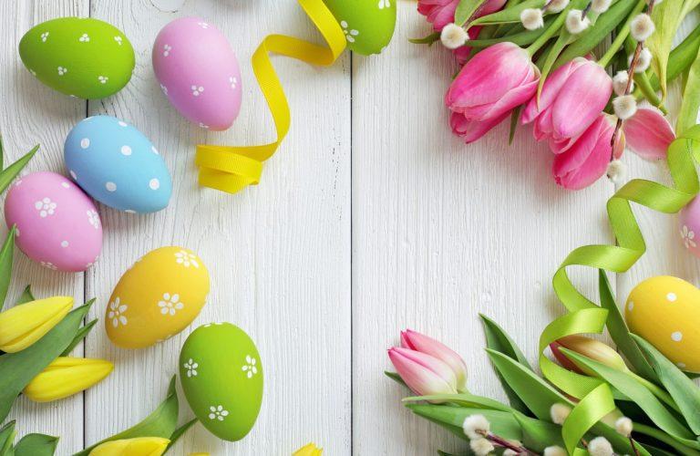 Ostereier mit Frisur: Deko für das Osterfest und die Zeit davor