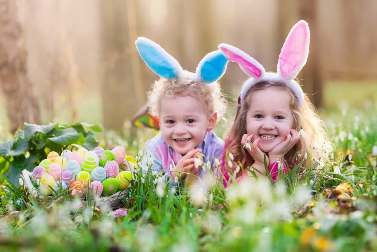 Fröhliche Osterspiele für Kinder