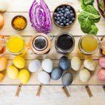 Mit Kindern Ostereier natürlich färben