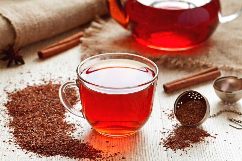 Rotbuschtee ist nicht nur lecker, sondern auch sehr gesund