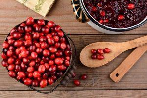 Die Cranberry ist gesund und schmeckt