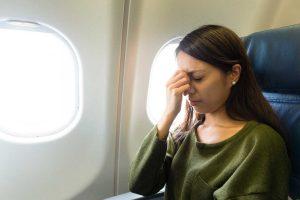 Welche Symptome deuten auf Flugangst hin?
