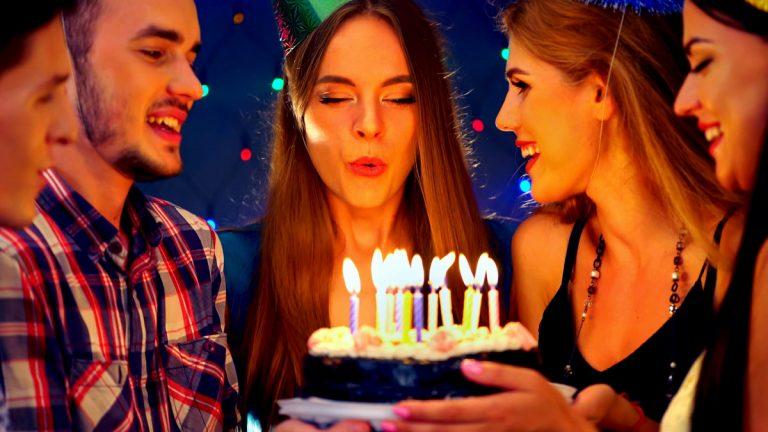 Geburtstagsfeier – Stellen Sie die Gäste vor