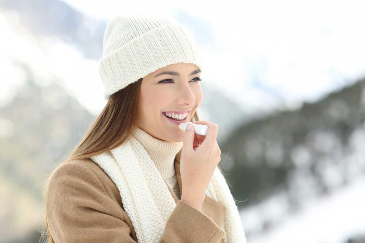 Schnelle Hilfe gegen trockene Lippen
