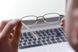 Computerbrillen empfohlen für die Arbeit am Bildschirm
