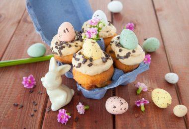 Backen zu Ostern: Muffins für Kinder