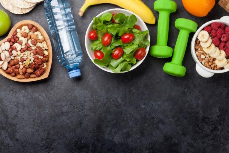 Mit Sport und Ernährung für Fitness und gute Laune sorgen