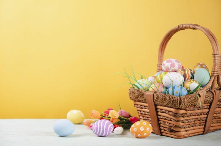 Originelle Ostergrüße: Eier sammeln in PowerPoint