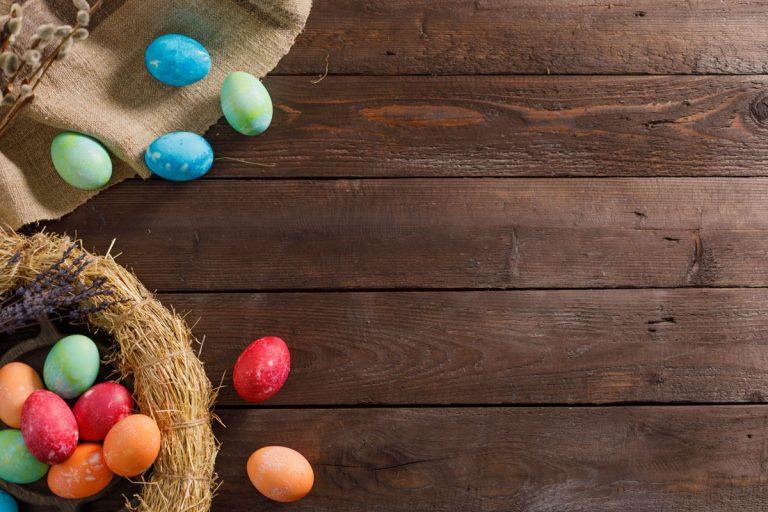 Osterkörbchen - Muss es immer Süßes sein?