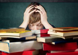 Was sind die Ursachen für einen Blackout bei einer Prüfung?