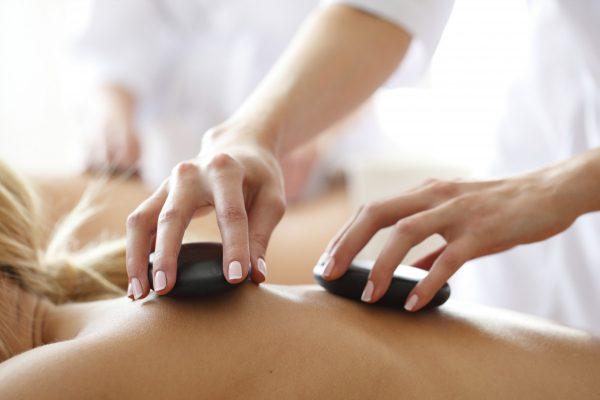 Sexy Körper Für Massage Eingeölt