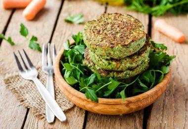 Gemüsefrikadellen - die fleischlose Alternative