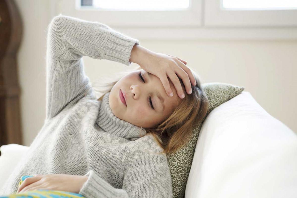 Was tun wenn die Kinder unter Kopfschmerzen leiden?