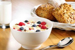 Abwechslungsreich und gesund sollte das Frühstück sein