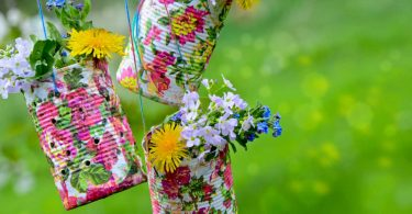 Bunte Frühlingsgrüße aus der Dose