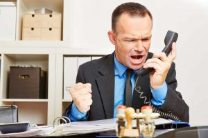 Choleriker im Büro - Was tun?