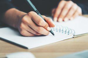Schreiben als Balsam für die Seele