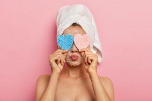 Gesichtspeeling für strahlend gesunde Haut
