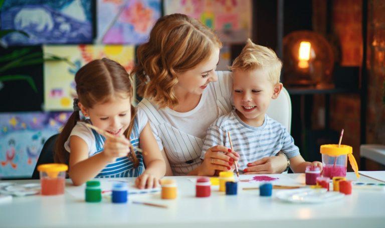 So gestalten Sie kreative Jahreszeiten-Bilder mit Ihren Kindern