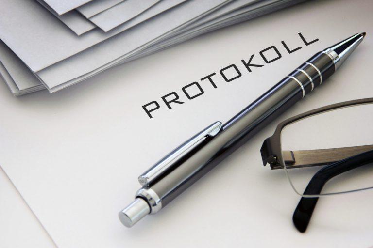 Das Ergebnisprotokoll – Nur das wichtigste auf einen Blick