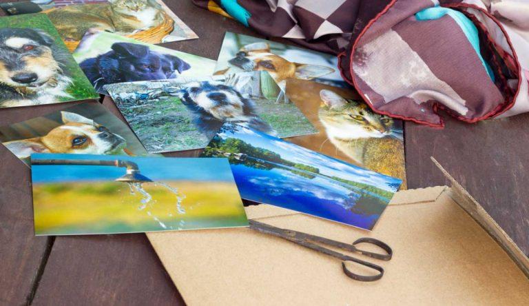 Kreativ sein mit einer Collage als Geschenkidee