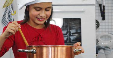 Kochen mit Kindern: Beginnen Sie mit Pudding