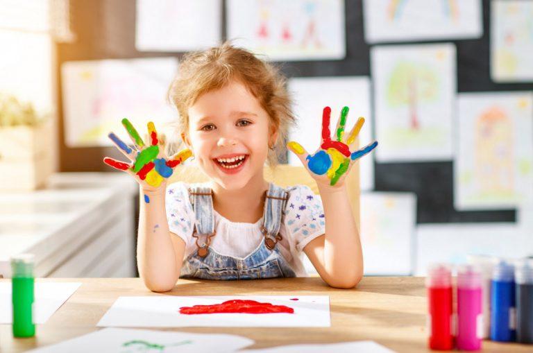 Malen - Kleinkinder kreativ fördern