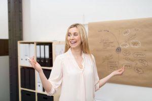 Tipps für Ihre Körpersprache bei Präsentation