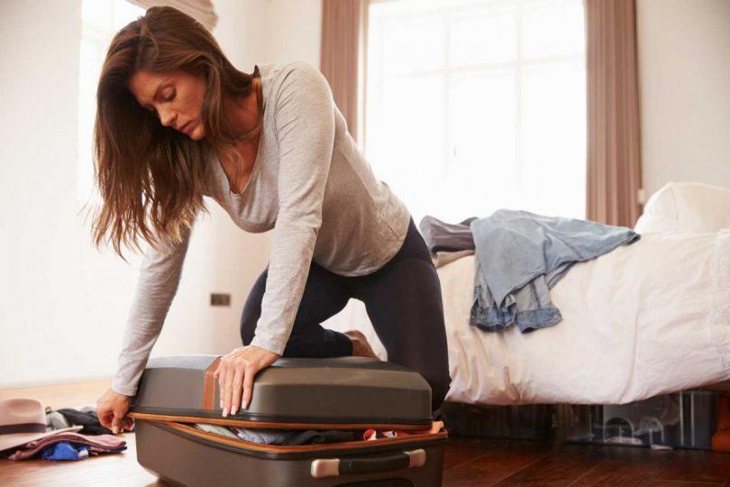 Wie Sie den Koffer schnell und unkompliziert packen