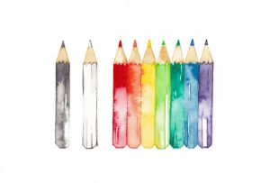 Kreativ auf Reisen – Zeichnen und Malen mit Aquarellstiften