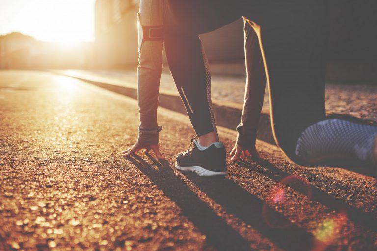 Die richtige Schrittlänge und Schrittfrequenz beim Jogging