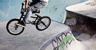 Mit BMX-Rad können Sie die Freizeit aktiv gestalten