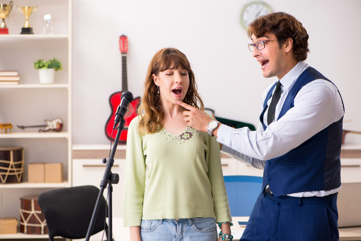 Stress abbauen mit Gesangsunterricht