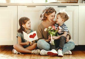 Geschenkidee zum Muttertag selber basteln