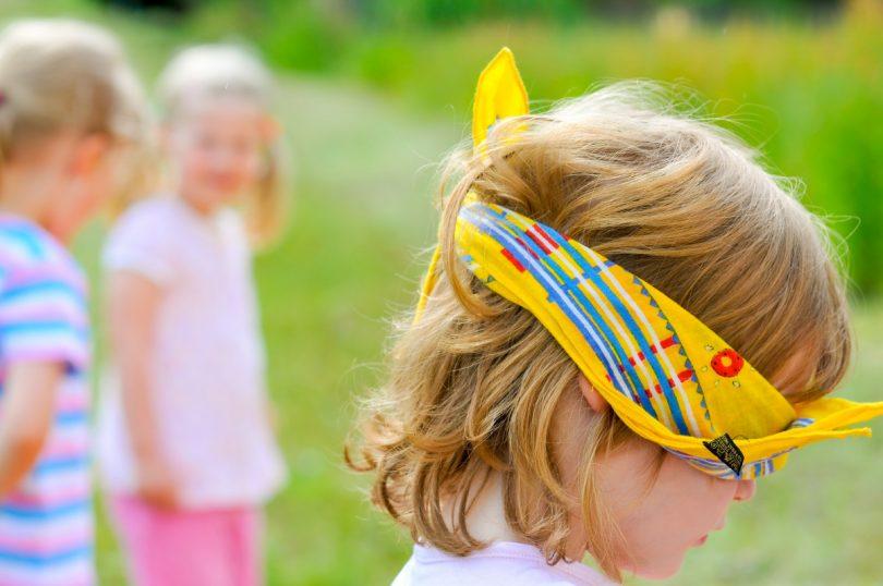 Kinder Entdecken Den Tastsinn: Lustige Spiele Ideen