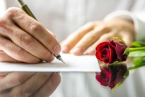 Mit einer kreativen Liebeserklärung ans Ziel