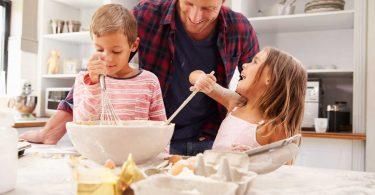 Richtig mit Kindern kochen und backen