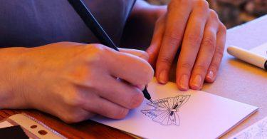 Beliebte Techniken: Zentangles zeichnen und gestalten