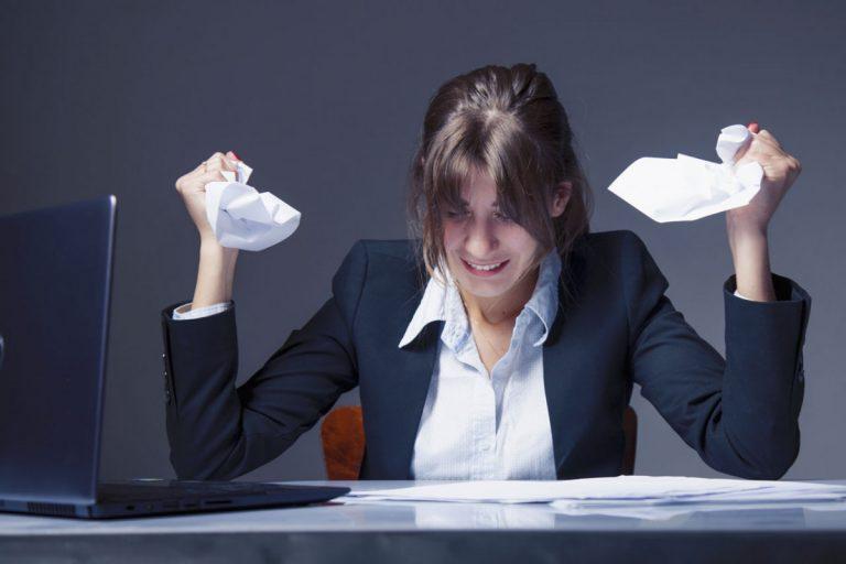 Vermeiden Sie Stress durch Selbst-Mobbing