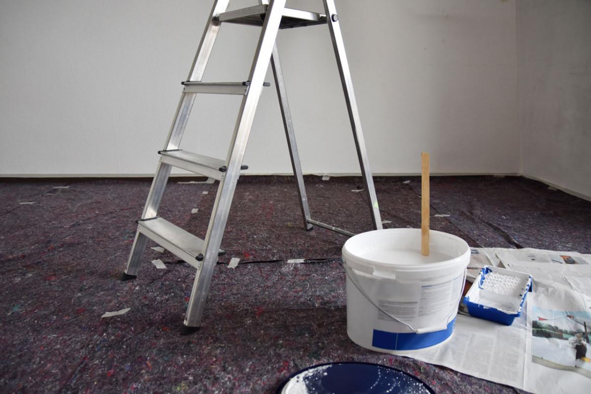 Favorit Malervlies als Bodenschutz bei Renovierungsarbeiten einsetzen RM99