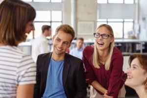 Arbeit soll Spaß machen - prüfen Sie regelmäßig