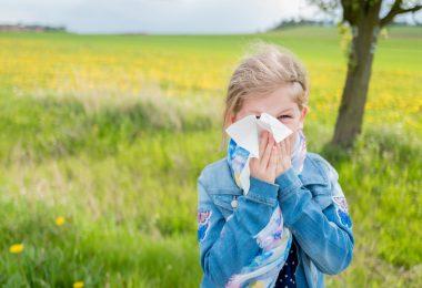 Heuschnupfen bei Kindern vorbeugen