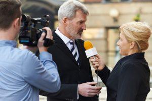 TV-Interview – So machen Sie vor der Kamera ein gutes Bild