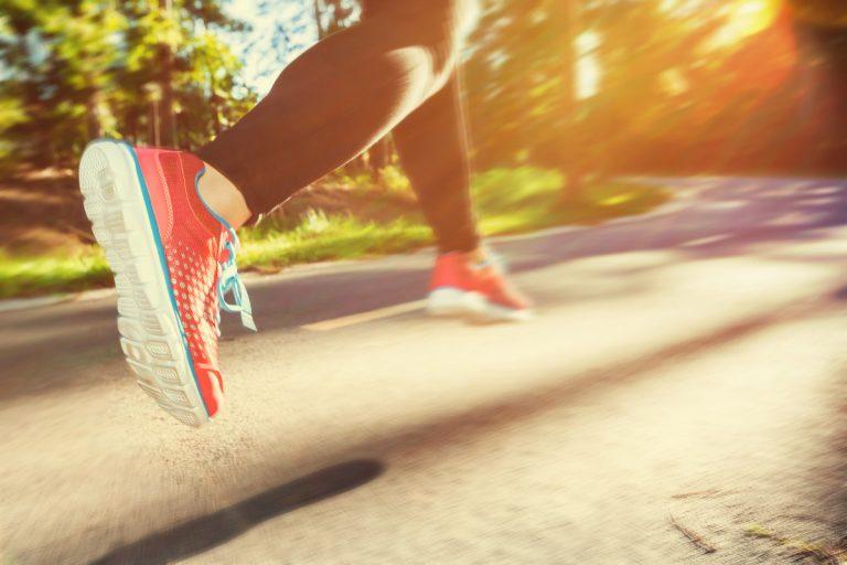 Laufen ist gut gegen Stress