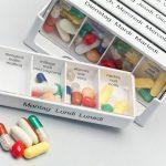 Dosierkassetten sind nützlich für die richtige Dosierung von Tabletten