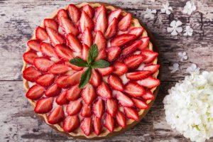 Erdbeerkuchen – besonders lecker mit Landfrauen-Tipps