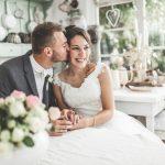 Hochzeitsfest – lassen Sie die Gäste ein Bild stempeln
