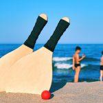 Tischtennis spielen am Strand – so geht's