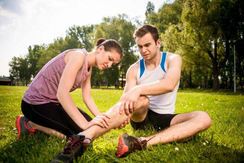 Leichte Sportverletzungen selbst behandeln?