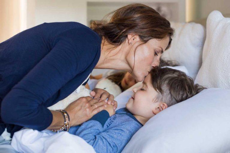 Wenn das Kind nicht schlafen will: Wie Rituale helfen können
